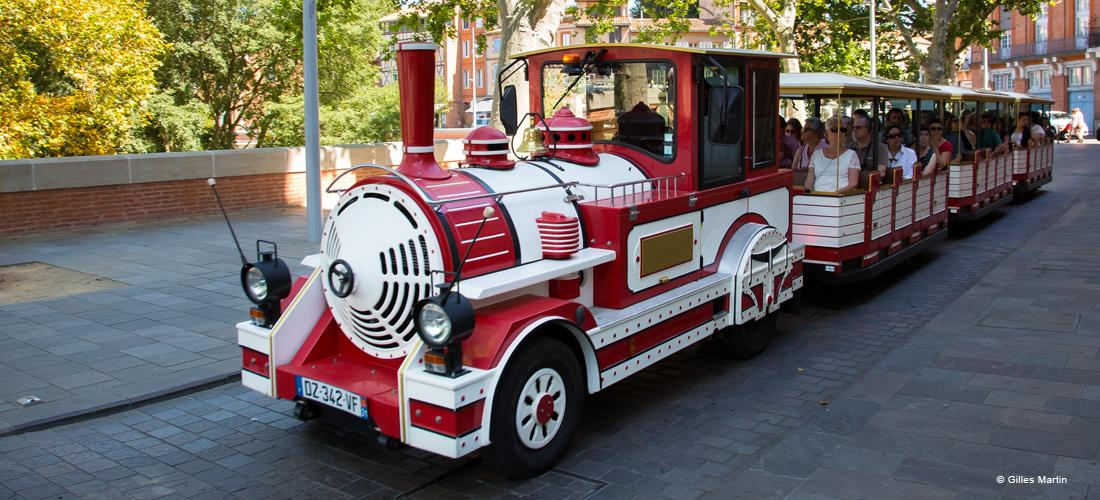 Petit train Toulouse