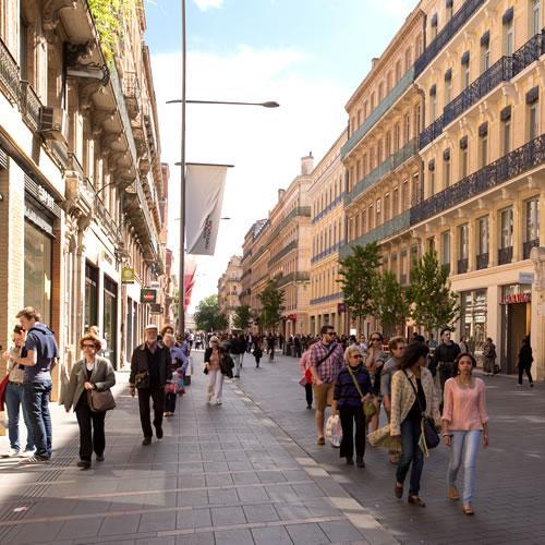 Rue Alsace-Lorraine, Toulouse
