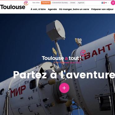 Site internet © Office de tourisme Toulouse